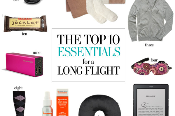 Travel Style: 10 Essentials for Long Flights from Hitha On the Go