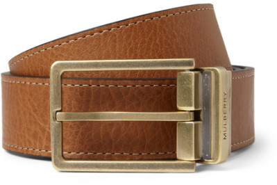 VIDEO: The Two Men's Belts You Need in Your Closet