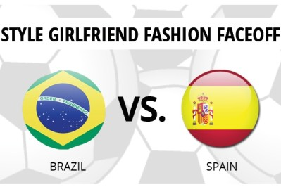 SG World Cup Fashion Faceoff: Spain VS. Brazil