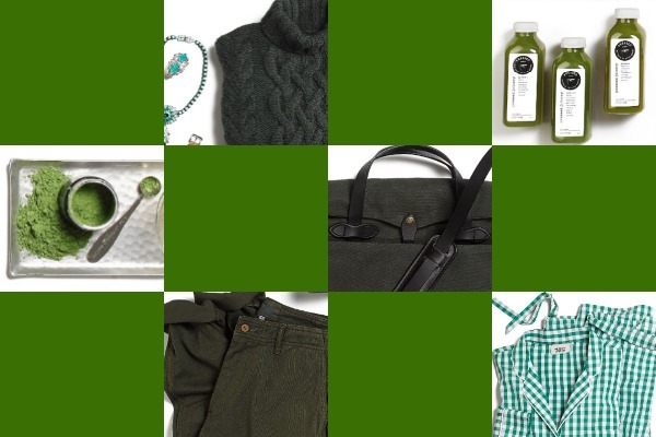 #GiftInColor:<br />Holiday Gift Ideas in Shades of Green