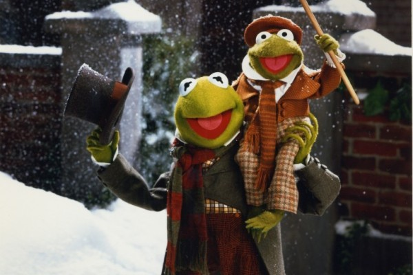 Steal His Look: Holiday Party Edition <br /> Kermit the Frog as Bob Cratchit in &#8220;The Muppet Christmas Carol&#8221;
