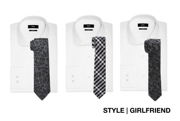 How to perfectly pair shirts and ties style girlfriend for Black shirt and tie combinations
