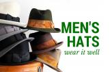 Wear it Well: Men's Hats