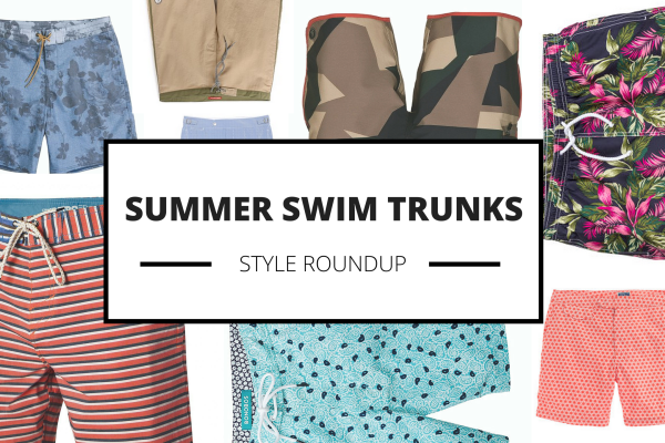 Style Roundup: 15 Swim Trunks for Summer