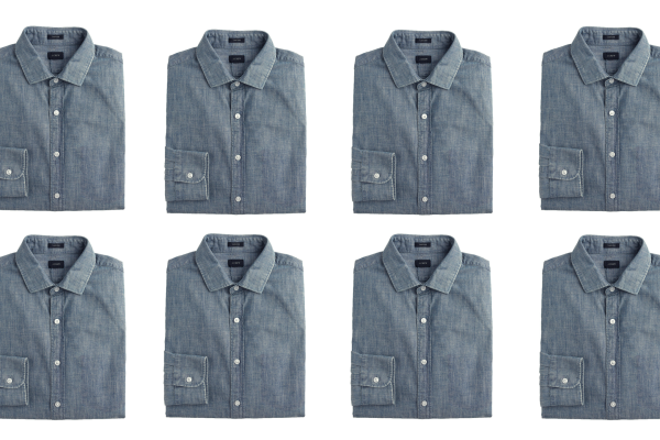 5 Days, 5 Ways: The Chambray Shirt