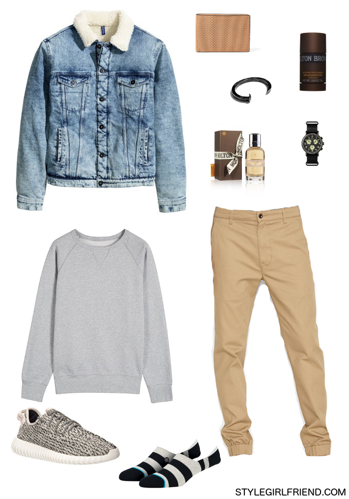 Outfit Inspiration Yeezy Boost Style Girlfriend