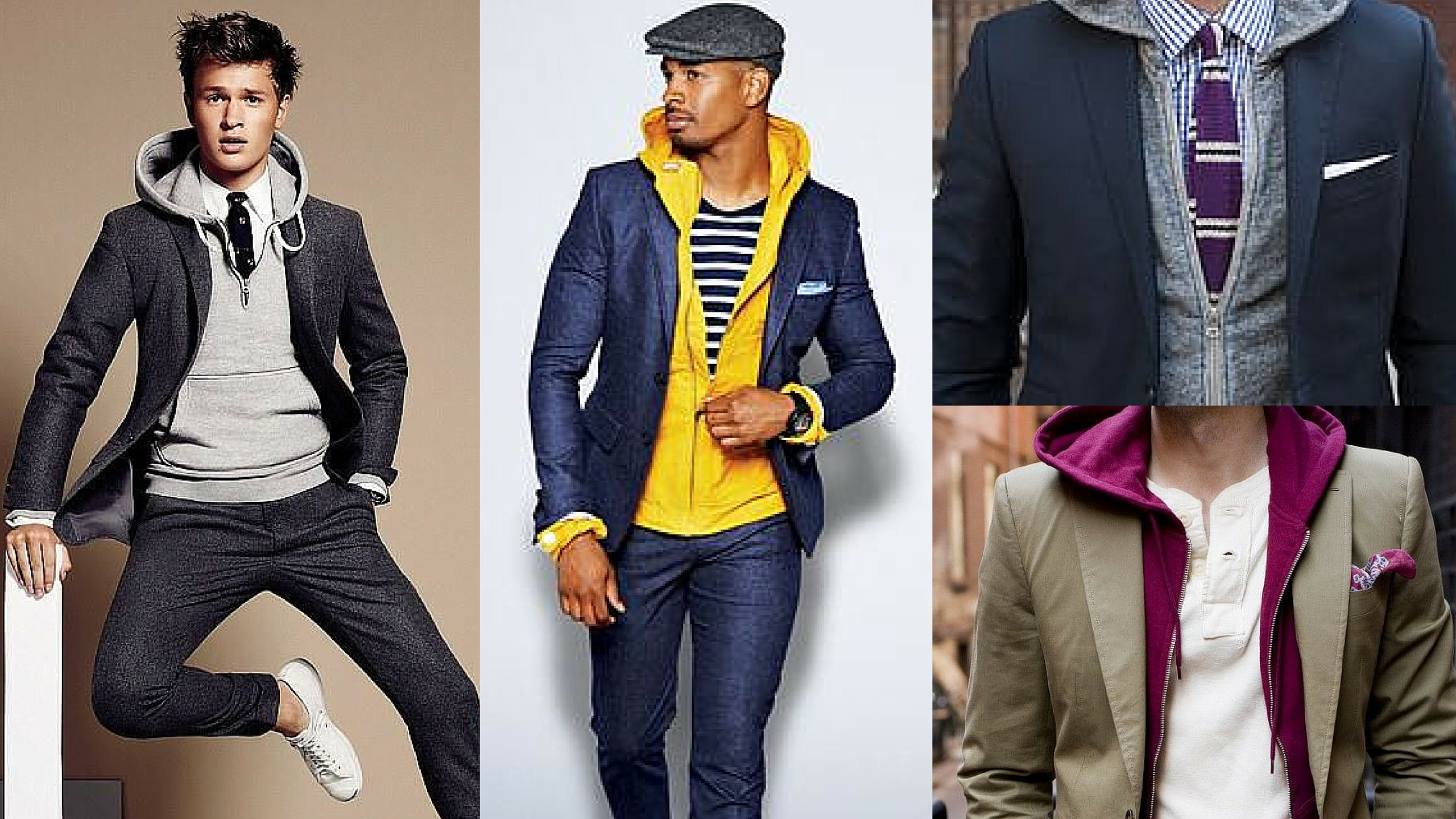Steal His Look #Menswear-Ready Hoodie Under a Suit | Style Girlfriend