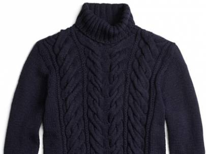 How to Wear...a Cable Knit Turtleneck