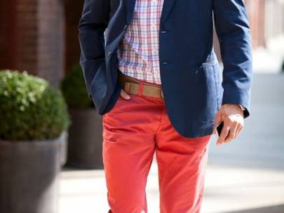 The Guy's Guide to Wearing Fire Engine Red
