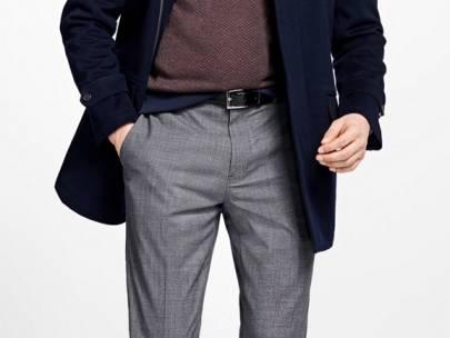 Men's Wardrobe Essential: Grey Wool Dress Pants