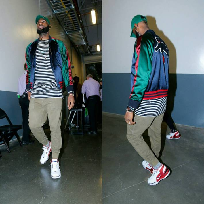 lebron james Cavs vs Kings outfit
