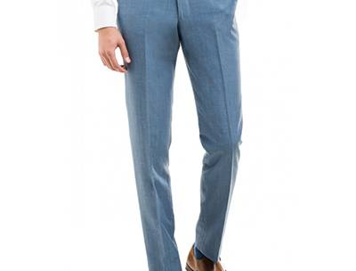 How to Wear Blue Dress Pants