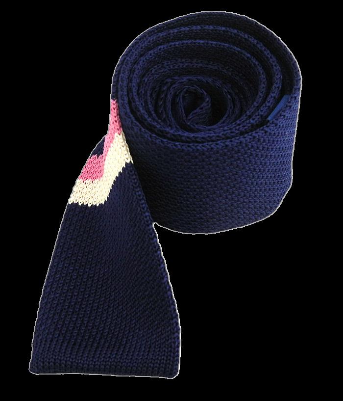 the tie bar knit tie