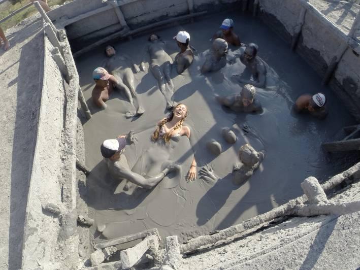 Mud bath cartagena