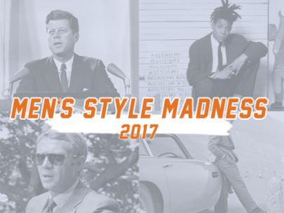 Kicking off Style Girlfriend Men's Style Madness 2017